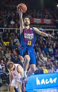Juan Carlos Navarro en el partido de hoy se ha convertido en el máximo anotador de la historia del FC Barcelona en la Liga ACB.