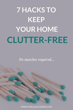 Unfortunately, maintaining a clutter free home is not a one-time, set and forget activity. But, the good news is that there's some easy tips and tricks that can keep the clutter at bay. #declutter #organize #clutter