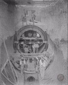 Construcción de la cloaca máxima de la ciudad de Buenos Aires, 1871. Inventario 227.