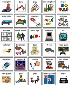 Inclusion and SPED teachers!!! Best Place to find FREE pre-made Visual Supports in English