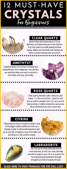 Best Healing Crystals, Crystal Healing Stones, Chakra Crystals, Crystals And Gemstones, Stones And Crystals, Wicca Crystals, Gem Stones, Healing Rocks, Healing Crystals Meaning