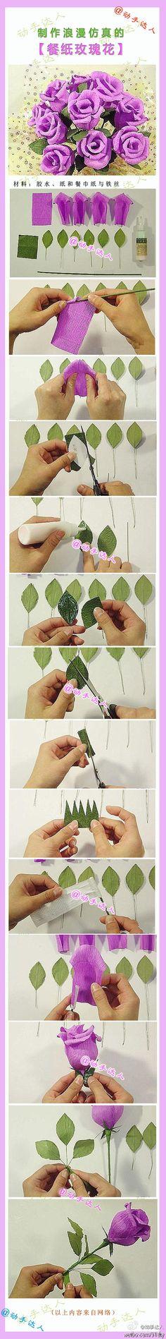 Handmade DIY accessories Coldplay tide things handmade roses