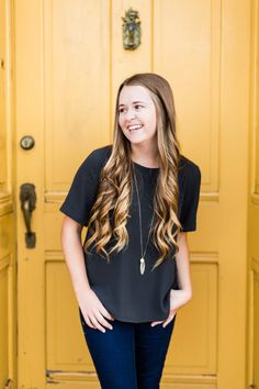 Styled Fall Senior Session- downtown