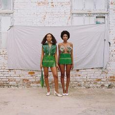 Solange / Music Video / Banana Leaf Dress