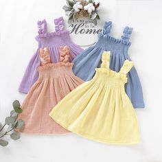 Check out the cute stuff I just found at PatPat! Kids Dress Wear, Dresses Kids Girl, Kids Outfits Girls, Little Girl Outfits, Cute Dresses, Toddler Outfits, Toddler Girls, Girls Frock Design, Baby Dress Design