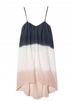 Stark Dip Dye Dress