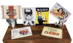 Placas Vintage Metalicas 30 x20cm o 21X15,5cm Envio Certificado