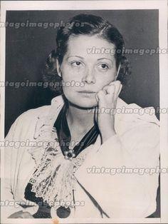 1936 Betty Peleeb Stark Arrested Bigamy Murder Suspect Girl Crime Press Photo