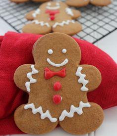 Gingerbread Man Cookies - My Honeys Place