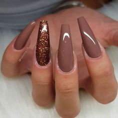 Visit our site for more Amazing Crazy Nails Art Designs : Visit our site for mor. - Visit our site for more Amazing Crazy Nails Art Designs : Visit our site for more Amazing Crazy Nai - Crazy Nail Art, Crazy Nails, Fancy Nails, Bling Nails, Pretty Nails, Brown Acrylic Nails, Brown Nails, Best Acrylic Nails, Fall Nail Designs