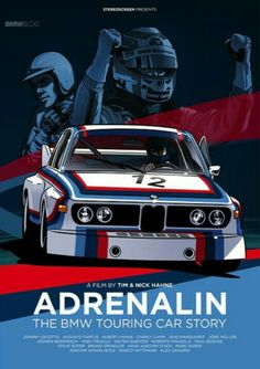 art cars Adrenalin - The BMW Touring Car Story. A filem by Tim and Nick Hahne. This is definitely on my Christmas list. Bmw Touring, Bmw Logo, Carros Lamborghini, Carros Bmw, Bmw Motorsport, Course Automobile, Bmw Alpina, Auto Motor Sport, Bmw Classic Cars