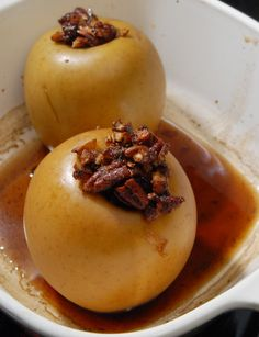 baked apples recipe for two (or more)