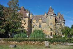 © 2016 Pedro M. Mielgo. Francia. Castillo de Lanquais. Compagina los restos de un castillo medieval con un palacio del Renacimiento. Pertenece a la misma familia desde 1732.