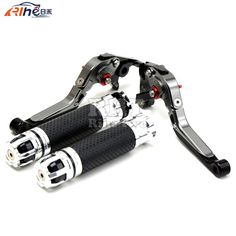 63.92$  Watch here - http://ali3ov.worldwells.pw/go.php?t=32675285887 - CNC Handlebar Motorcycle Handle Bar Grips Adjustable Clutch Brake Levers For TRIUMPH SPEED TRIPLE 1050 2011 2012 2013 2014 2015 63.92$