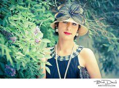 #Gatsby #1920's #Fashion #hat #Vintage