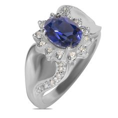 Ebay NissoniJewelry presents - 1/10CT w/ Created Sapphire Fashion Ring 10k W/Gold    Model Number:FR8832B-W077CSA    http://www.ebay.com/itm/1-10CT-w-Created-Sapphire-Fashion-Ring-10k-W-Gold-/222062064393