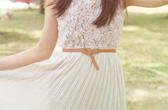 Lace and Skirt