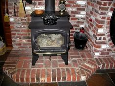 Wood-Burning Stove Surround Ideas | Please show me pictures of your wood stove, hearth & surround - Home ...