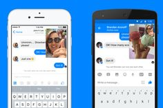 Facebook Messenger launches video chat that lets you text at the same time.