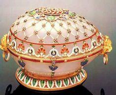 Huevos de Fabergé...más que joyas para el zares de Rusia...