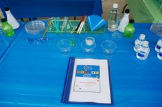 Science party lab station