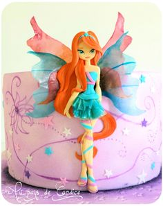 Gâteau Winx Bloom