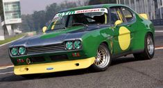 Ford V6, Car Ford, Sports Car Racing, Race Cars, Porsche 991 Gt3, Cayman Gt4, Car Trailer, Ford Capri, Sports Sedan