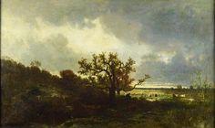 Landscape with Oaktree - Jules Dupre