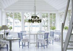 Dining room - Swedish archipelago style