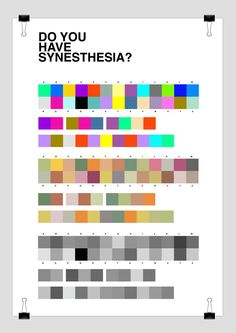 A number of people have done projects to display synesthesia. This is a great principle for people to study as it creates a level of awareness which is important but I want to allow people to develop their own understanding of how we can combine senses.