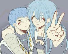 Shin-ah and Ao