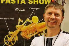 Artist Uses Pasta To Make Mini Vehicle Sculptures, The New Dinner Garnish? - DesignTAXI.com