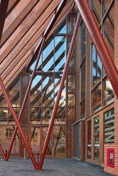 O'Donnell + Tuomey Architects, George Messaritakis, Dennis Gilbert · Saw Swee Hock Student Centre, London School of Economics Pvc Canopy, Ikea Canopy, Window Canopy, Beach Canopy, Canopy Bedroom, Backyard Canopy, Garden Canopy, Canopy Outdoor, Fabric Canopy