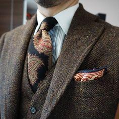 "maidoookini: "" Goooo morning My favorite tweed suit """