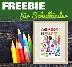 Tolles #Freebie zum Ausdrucken für den #Schulanfang oder #ersten Schultag!