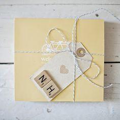 scrabble letter invitations