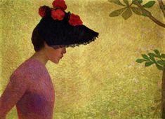 """Aristide Maillol """"Portrait de Jeune Femme"""""""
