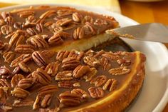 Pecan and Salted Caramel Cheesecake