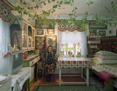 Traditional House, Bucovina, Romania, 2006 by David Leventi. New York Studio, City People, Architecture Images, Photo Colour, Color Photography, Traditional House, Interior Decorating, Contemporary, Furniture
