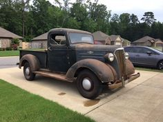 Vintage Trucks 1937 Chevrolet Pickup-All Original Chevy Trucks Older, Lifted Chevy Trucks, Gm Trucks, Chevy Pickups, Chevrolet Trucks, Cool Trucks, Classic Pickup Trucks, Old Pickup Trucks, Jeep Pickup
