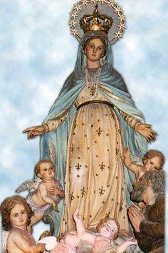 NUESTRA SEÑORA DE LA MISERICORDIA, que recibió a las Hijas de la Misericordia cuando llegaron a Buenos Aires el 14 de diciembre de 1875.