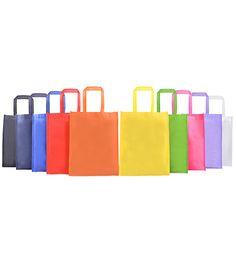 "NWB 10133 Non Woven Bag [NWB 10133] Size: 13""(H) x 10"" (L) x 3"" (W) @ 90gsm           : 33cm(H) x 25.5cm (L) x 7.5cm(W) @ 90gsm Material: Non Woven Colour: Orange, Black, Green,               Red, Royal Blue, Navy Blue,               Light Purple, White, Yellow, Magenta"