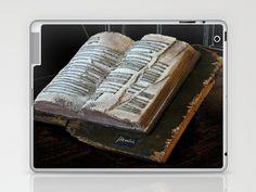 libro d'artista Laptop & iPad Skin by Francesco Mestria - $25.00