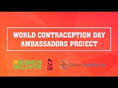 Women Deliver and Bayer support young leaders on contraception access projects - News Hour
