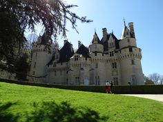 Chateau d'Usse in the Loire Valley