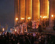 Beltane Fire Festival on Calton Hill in Edinburgh, Scotland #festivals #pagan #wicca #celta #druidism #Goddesses