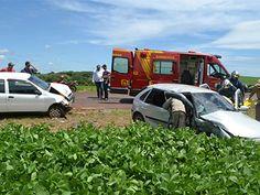 BLOG DO MARKINHOS: Colisão envolve Pálio e Gol e deixa motorista feri...