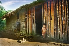 """Home, sweet home...""""Just the way we like it and want to keep it..."""", say the Guarani. """"It was the way of our ancestors and we have no reason to change it..."""""""