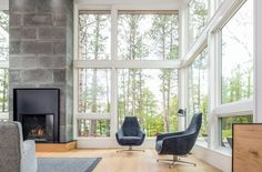This Scandinavia-inspired lake home is a sweet modern retreat - Curbed