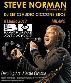 MILANO– Sabato 8 Luglio 2017 Steve Norman Spandau Ballet & Dj Claudio Ciccone Bros. Opening Act Alessia Ciccone. Negli anni Ottanta si sono affermate band come […]